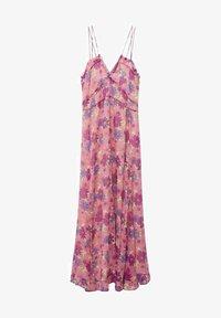 Mango - GEMUSTERTES - Day dress - rosa - 6