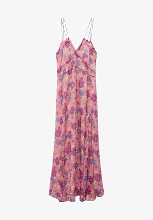 GEMUSTERTES - Day dress - rosa