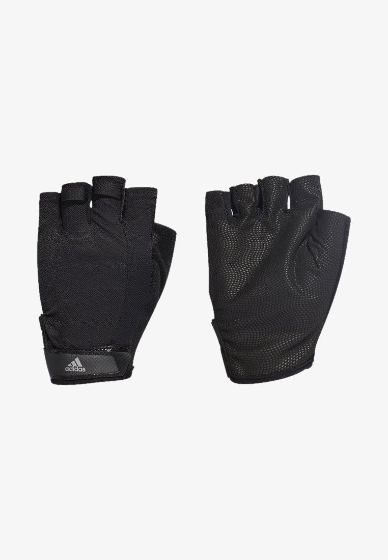 adidas Performance - Versatile Climalite Gloves - Torghandskar - black