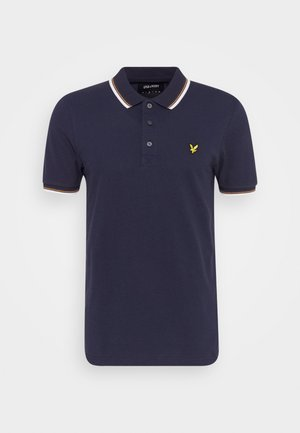 TIPPED  - Poloshirts - navy/white