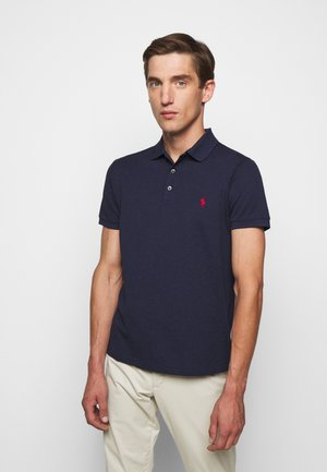SLIM FIT MODEL - Koszulka polo - spring navy heather