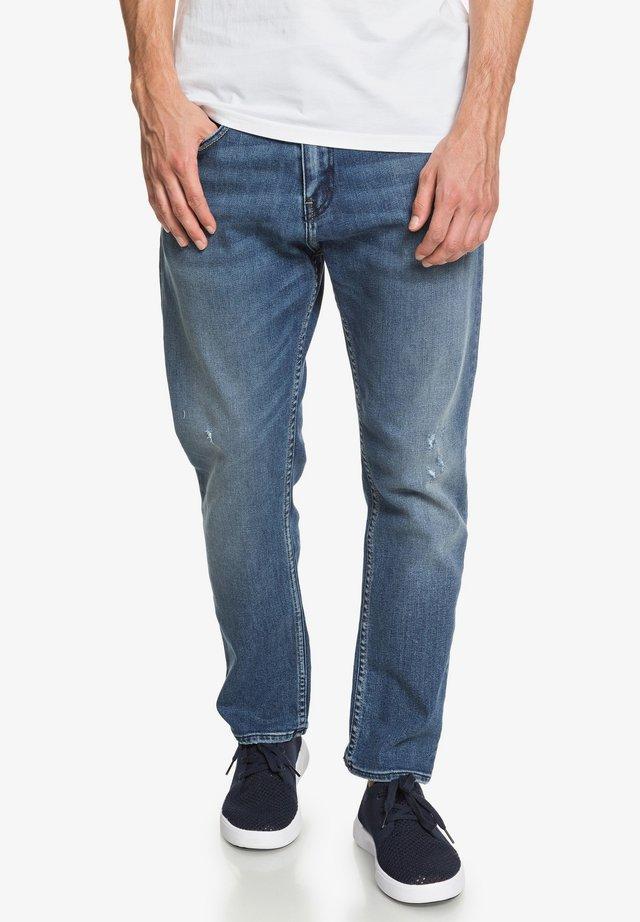 Straight leg jeans - lost blue