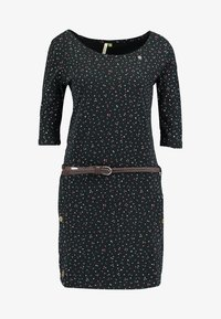 Ragwear - TANYA ORGANIC - Jerseykjole - black - 4