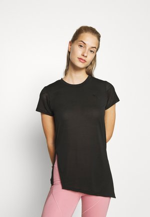STUDIO TEE - Camiseta estampada - puma black