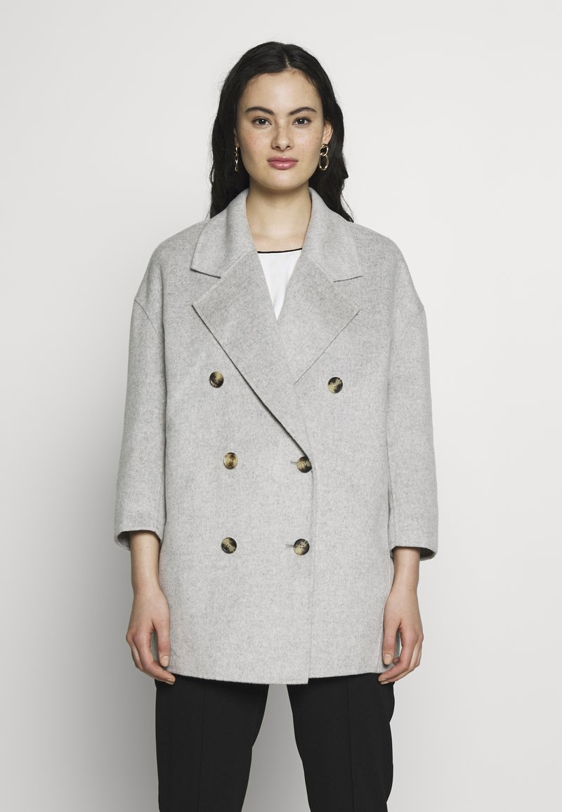 American Vintage - DADOULOVE - Classic coat - polaire chine