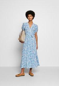 Polo Ralph Lauren - Day dress - white/aqua - 1