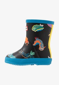 Hunter ORIGINAL - KIDS FIRST CLASSIC SEA MONSTER PRINT - Wellies - blue bottle - 1
