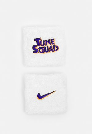 WRISTBANDS SPACE JAM 2 PACK - Sweatband - white/concord
