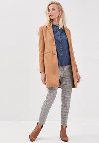 BONOBO Jeans - Halflange jas - marron clair - 1