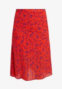 McQ Alexander McQueen - CUT UP SEAM SKIRT - A-line skirt - blazing orange - 3