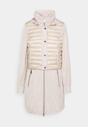 Klasický kabát - ivory
