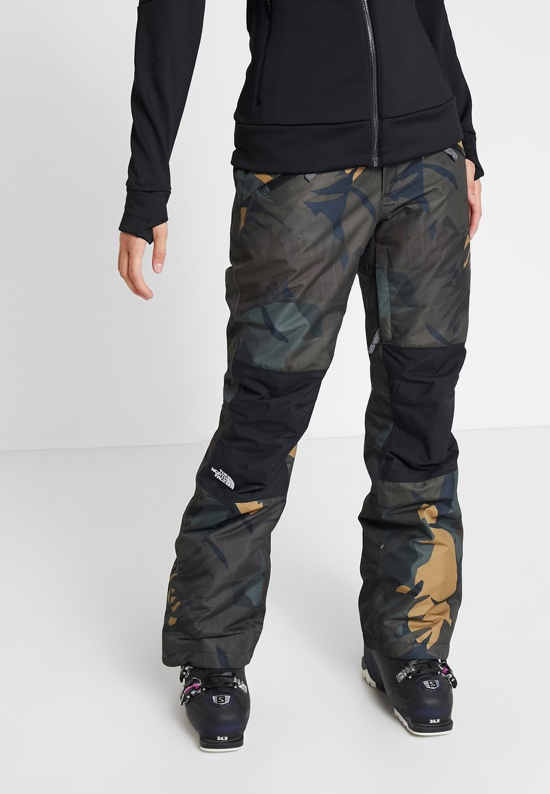 The North Face - ABOUTADAY PANT - Ski- & snowboardbukser - new taupe green/black