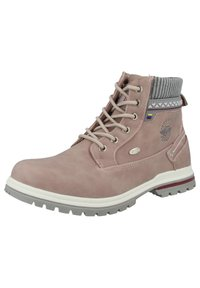 Dockers by Gerli - Lace-up ankle boots - pink - 2