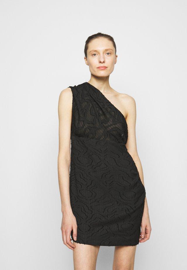 ROXANIE DRESS - Robe fourreau - black