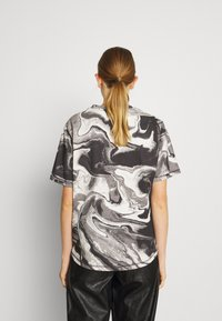 Holzweiler - RUSH TEE - Print T-shirt - dark grey - 2