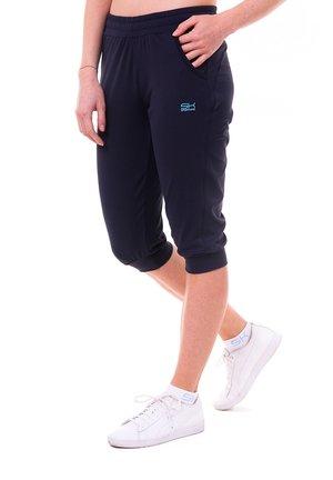 3/4 sports trousers - navy blau