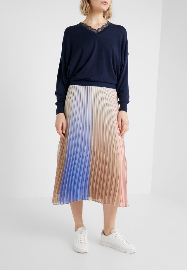 ISABELLE PLEATED FANCY SKIRT - A-Linien-Rock - multi color