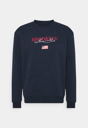 BROOKLYN CREW - Sweatshirt - navy