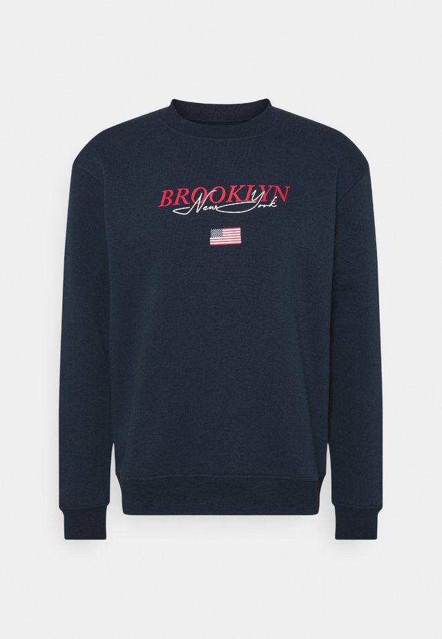BROOKLYN CREW - Sweatshirt - navy