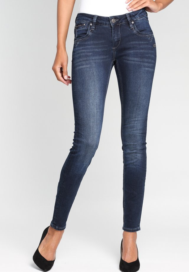 NIKITA - Jeans Skinny Fit - dark-blue denim