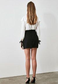 Trendyol - Wrap skirt - black - 1