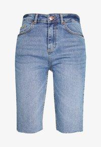 BYKATO BYKIM - Denim shorts - vintage blue