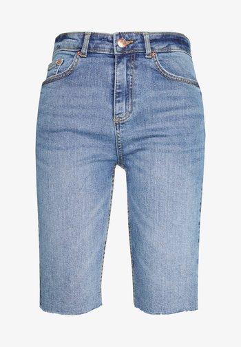 BYKATO BYKIM - Shorts di jeans - vintage blue