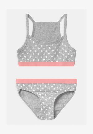 Underwear set - grey melange