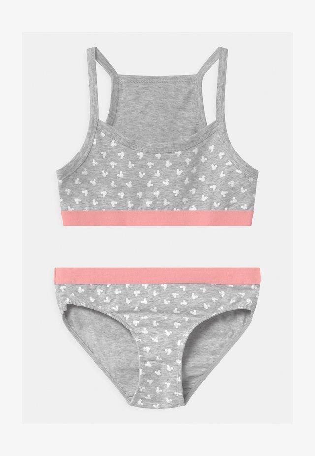 Underwear set - grey melange