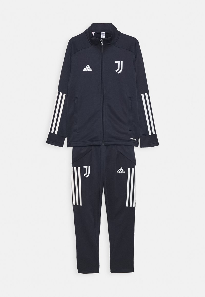 adidas Performance - JUVENTUS AEROREADY SPORTS FOOTBALL TRACKSUIT - Club wear - legink/orbgrey