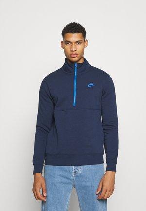 CLUB - Sweatshirt - midnight navy/signal blue