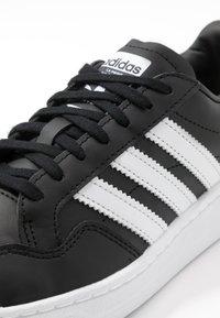 adidas Originals - TEAM COURT  - Trainers - core black/footwear white - 2