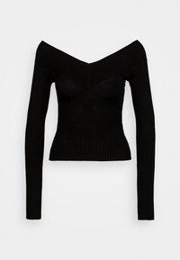 Even&Odd Petite - Pullover - black - 3