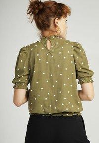 NAF NAF - Print T-shirt - green - 2