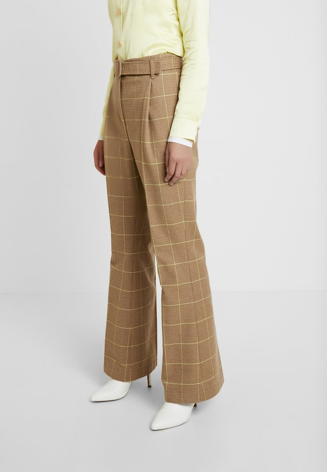 NOTE PANTS - Pantaloni - camel