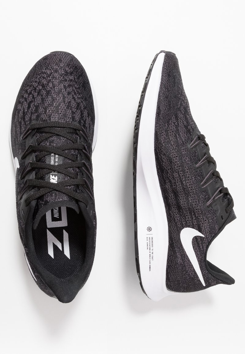 Presta atención a cobre solo  Nike Performance AIR ZOOM PEGASUS 36 - Stabilty running shoes -  black/white/thunder grey/black - Zalando.co.uk