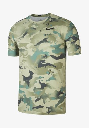 DRY TEE CAMO - T-shirt con stampa - mystic stone black