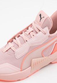 Puma - PROVOKE XT PEARL - Sports shoes - peachskin/energy peach/black - 5