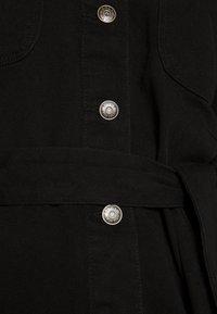 ONLY - ONLMELROSE JACKET YORK - Jeansjakke - black denim/washed denim - 5