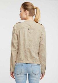 DreiMaster - Summer jacket - sand - 2