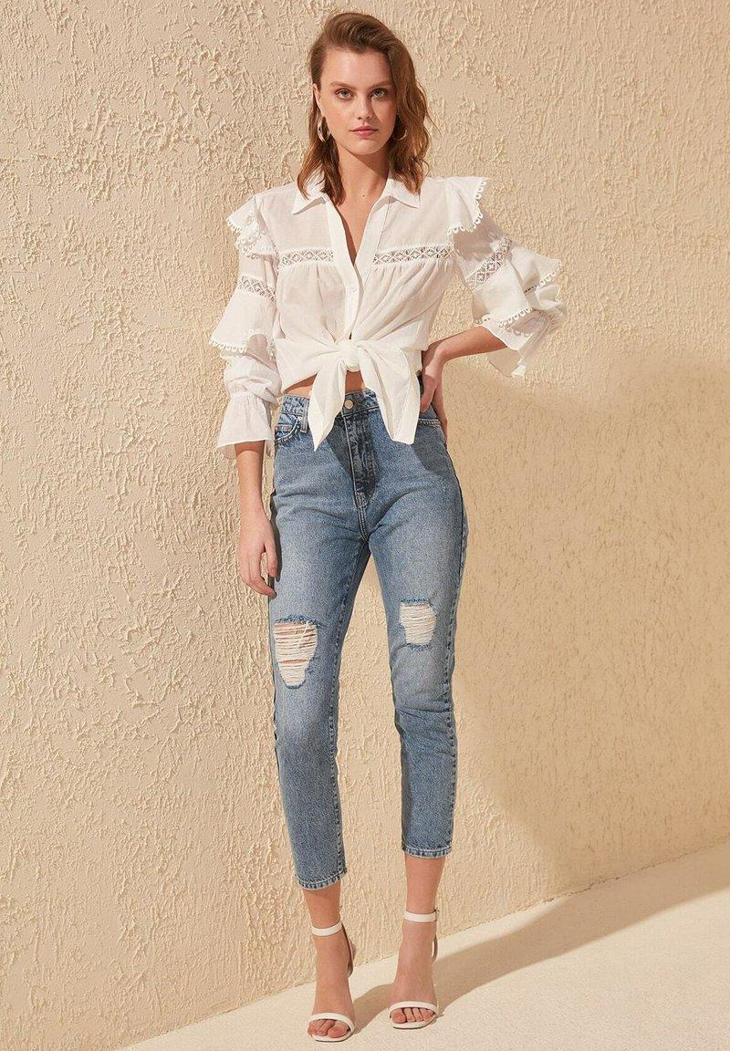 Trendyol - Slim fit jeans - blue