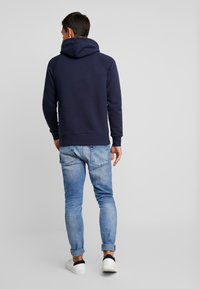 GANT - LOCK UP HOODIE - Sweat à capuche - evening blue - 2