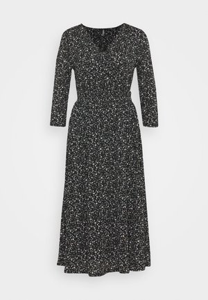 ONLPELLA WRAP DRESS - Freizeitkleid - black