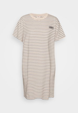 LULA TEE DRESS - Jerseyjurk - caviar/moonstone