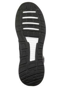 adidas Performance - RUNFALCON UNISEX - Neutral running shoes - core black / footwear white - 4