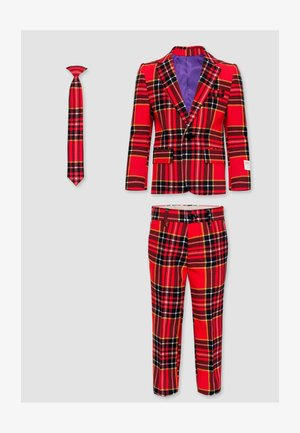 THE LUMBERJACK - Suit - red