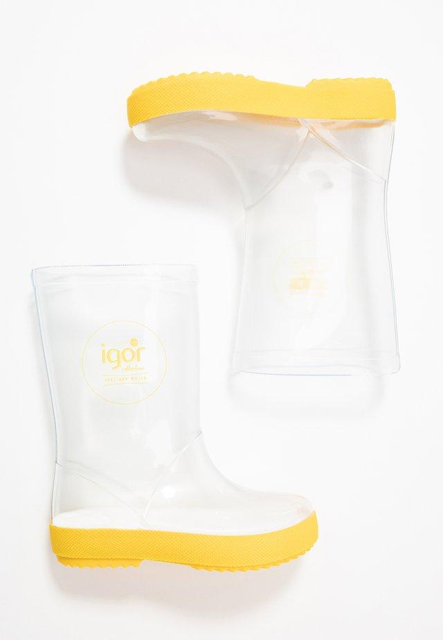 SPLASH SET - Regenlaarzen - amarillo/yellow