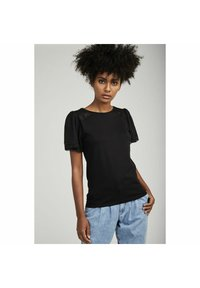 NAF NAF - Basic T-shirt - black - 0
