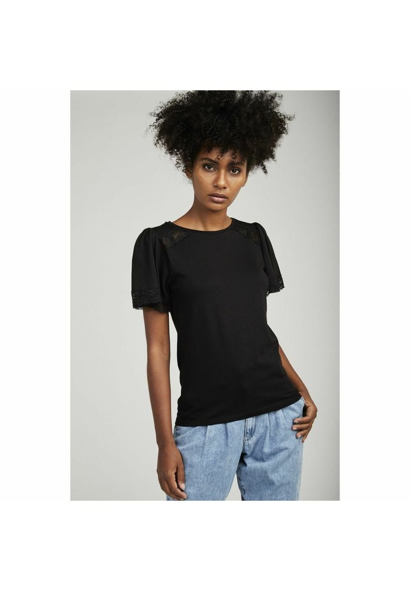 NAF NAF - Basic T-shirt - black