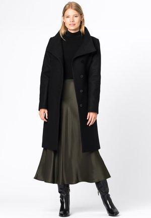 MIT STEHKRAGEN - Classic coat - schwarz